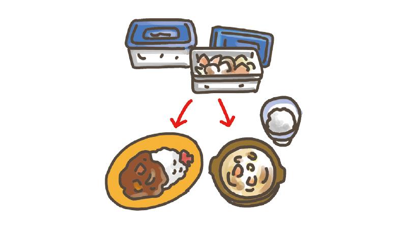 手軽にできる低栄養(食が細い)の人の食事づくりの工夫