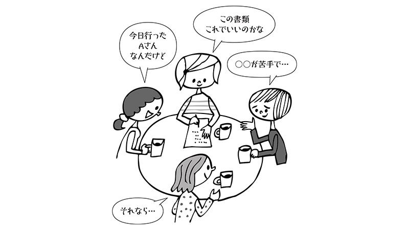 ヘルパーが辞めない職場づくり【3】〜入社後(事業所内)