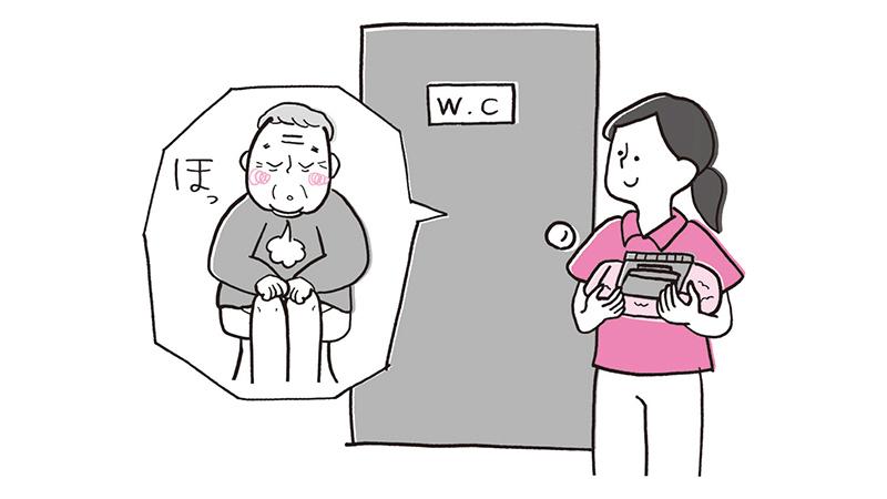 身体介護におけるプライバシーへの配慮