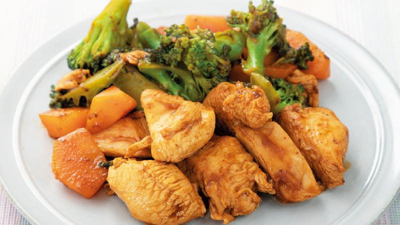 【高血圧が気になる人向け】ごろごろ野菜のタンドリーチキン