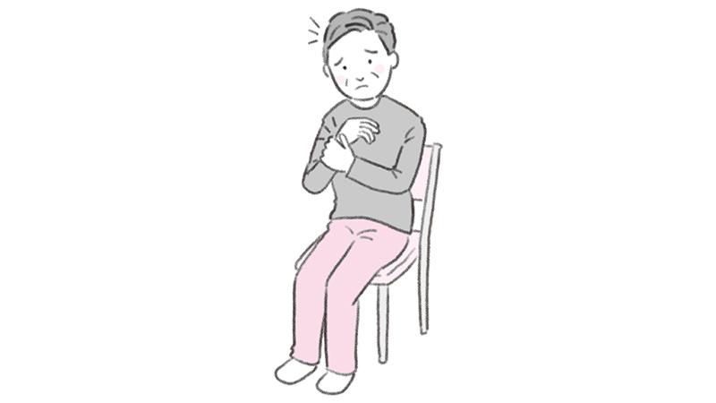 関節リウマチの方への介助の注意点