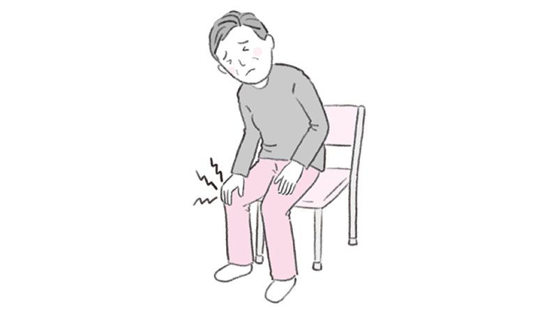 変形性関節症の方への介助の注意点