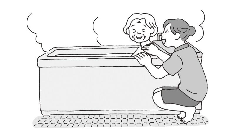 事例から考えるあいまいゾーンのあり方とは~入浴介助