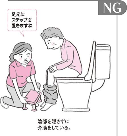 やってしまいがちな実例で考える「介助術」 第5回 排泄介助